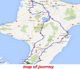 map of journey - click to enlarge