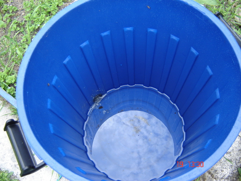 40L bucket with a lid